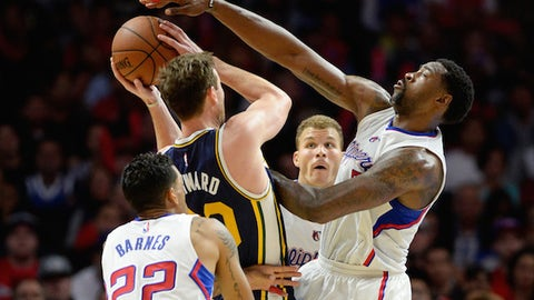 DeAndre Jordan for his dunks, defense & disposition