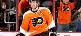 Flyers' Giroux shows range with aerial shots