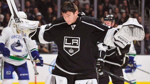 Goalie Jonathan Quick