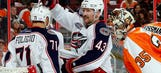 Blue Jackets go for win against struggling Flyers