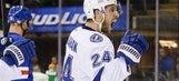 Lightning's Callahan torches Rangers in first game back in New York
