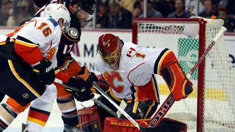 Flames vs. Ducks: Goaltenders