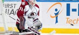 Colorado's Calvin Pickard makes best of first start this season
