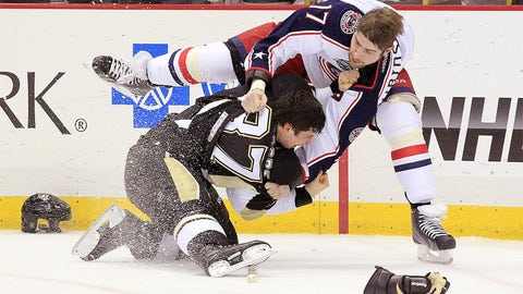 Crosby vs. Dubinsky
