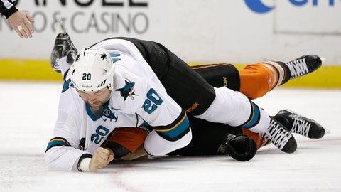 Ducks vs. Sharks, Round 1 — Scott vs. Jackman