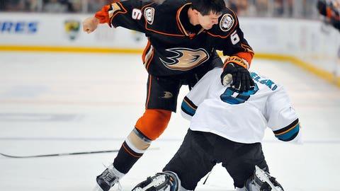Ducks vs. Sharks, Round 2 — Pavelski vs. Lovejoy