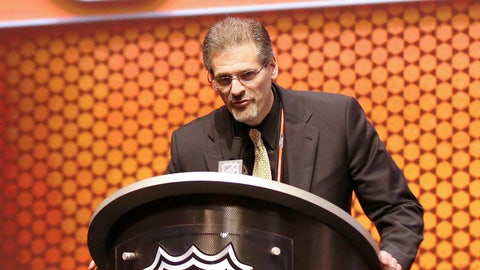 Ron Hextall — general manager for the Philadelphia Flyers