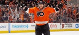 Voracek, Flyers open hearts to 8-year-old with form of epilepsy (PHOTOS)