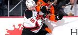 Adam Henrique finds net twice as Devils beat Flyers