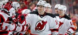 Devils' Henrique wears suit with snowmen, reindeer and Christmas trees – oh my! (PHOTO)