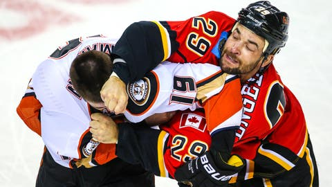 Flames vs. Ducks: Intangibles