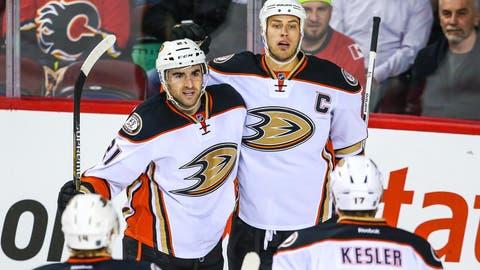 Flames vs. Ducks: Forwards