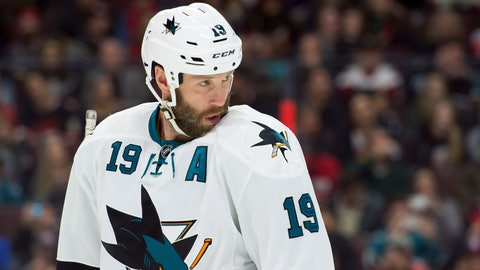 San Jose Sharks — Joe Thornton vs. Doug Wilson