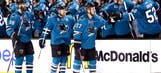 Sharks knock off Avalanche to keep faint playoff pulse going