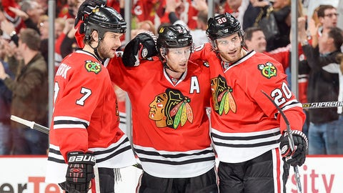 How much, if any, sadness do you have about leaving the guys in Chicago?