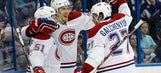 Canadiens beat Lightning in Game 4 to avoid playoff elimination