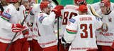 Belarus beats U.S. for first time, leads group at World Championship