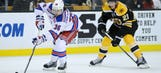 Mats Zuccarello puts brain injury on back burner during first game back