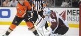 Avalanche blank Ducks; Anaheim has one goal through four games