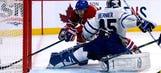 Leafs' Jonathan Bernier is a veritable senior citizen — for Halloween at least