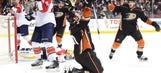 Perry's first goal of season just the spark Ducks need in OT win