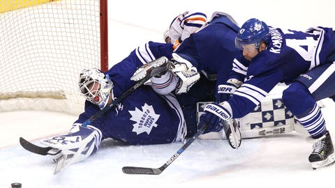 Emotional Sparks ignites Maple Leafs in NHL debut