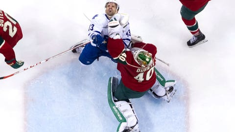 Dubnyk denies Kadri, Maple Leafs