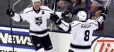 Kings can't figure Bobrovsky out, but topple his backup after injury