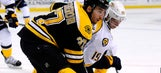 Patrice Bergeron unknowingly ties Bruins legend's scoring record