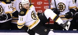 Jimmy Hayes looking to find 'big man's game' after string of healthy scratches