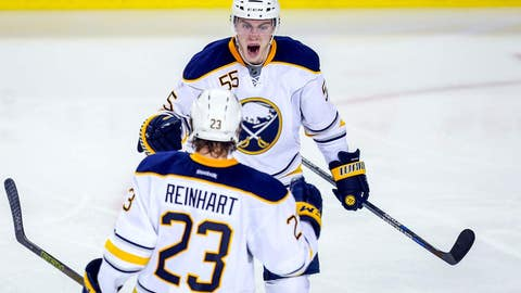 Sabres' red-hot Ristolainen nearly scorches Flames