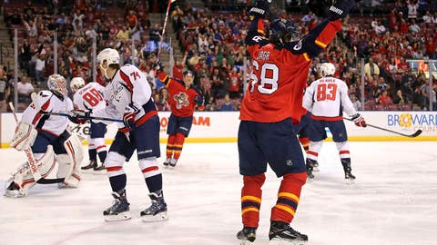 Jagr ties Dionne for fourth place on NHL's all-time goal list