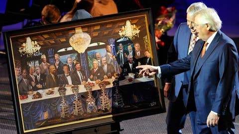 Sather honored in Edmonton