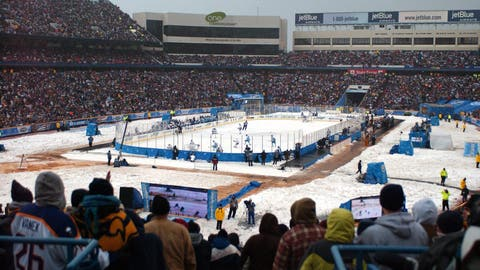 Ralph Wilson Stadium: Pittsburgh Penguins at Buffalo Sabres, 2008