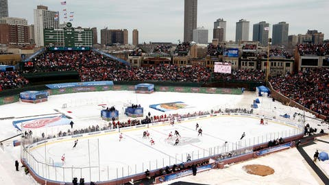 Wrigley Field: Detroit Red Wings at Chicago Blackhawks, 2009