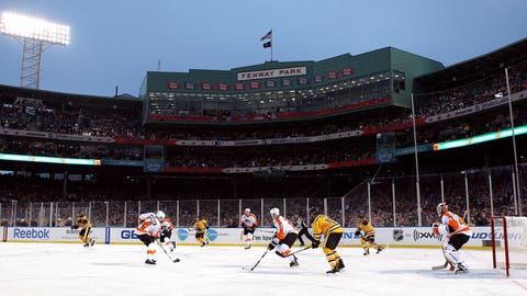 Fenway Park: Philadelphia Flyers at Boston Bruins, 2010