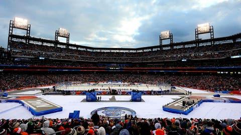 Citizens Bank Park: New York Rangers at Philadelphia Flyers, 2012