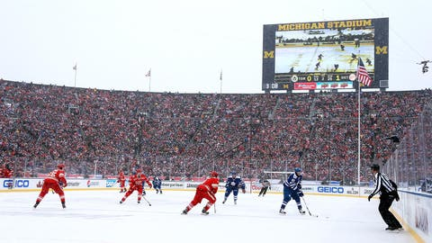Michigan Stadium: Toronto Maple Leafs at Detroit Red Wings, 2014