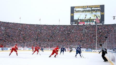 Michigan Stadium: Toronto Maple Leafs at Detroit Red Wings, 2014