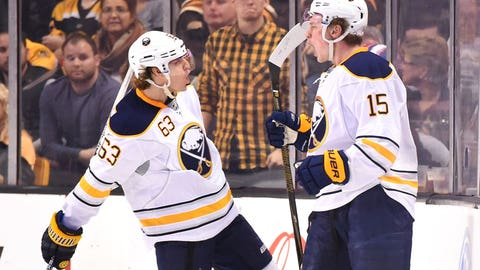 Sabres' Eichel experiences happy homecoming