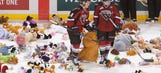 Forget teddy bears, fans of AHL club toss undergarments to ice (VIDEO)