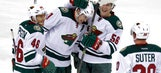 Wild lose captain, get hat trick, weather 3 goals in final minute