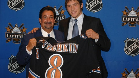Top overall pick of 2004 draft nets two in NHL debut