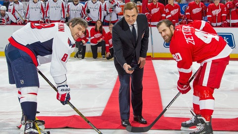 Ovechkin moves past countryman Fedorov