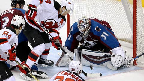 Avalanche's Pickard picks up first NHL shutout