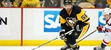 Kris Letang suspended one game for hit on Marcus Johansson