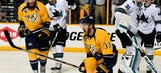 5 key moments from the Nashville Predators' crazy triple-OT win over the San Jose Sharks