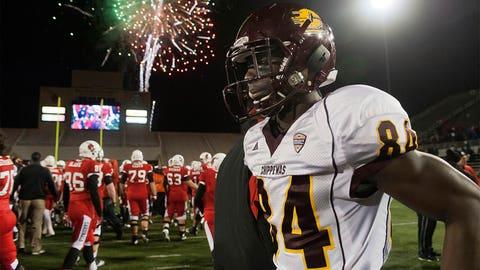 Round 7: Titus Davis, wide receiver, Central Michigan
