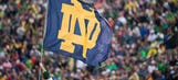 Notre Dame students taunt Michigan, sing goodbye to rivalry