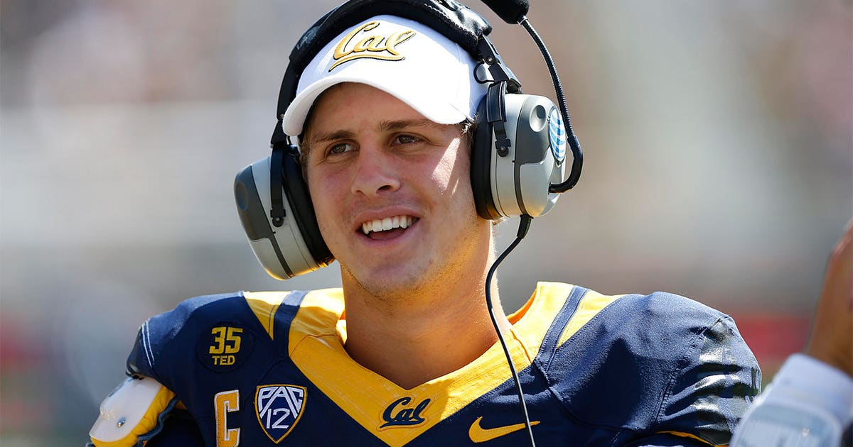 Qb goff ranked as no 3 prospect for 2016 nfl draft fox for Goff pictures